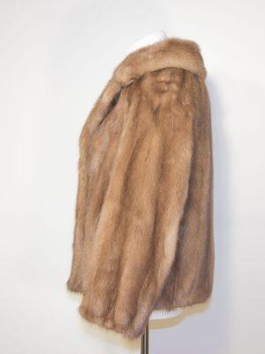 Palominový norkový kožich D180294