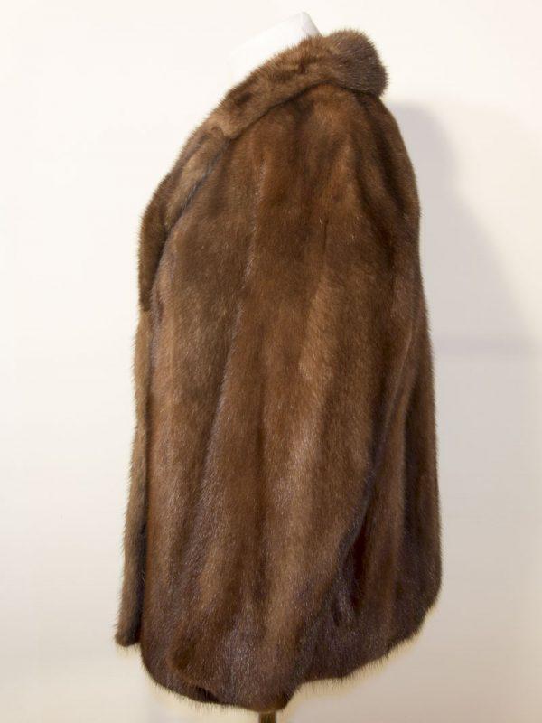 Norkový kožich D1803086