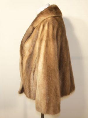 Norkový kožich SAGA MINK D1803098