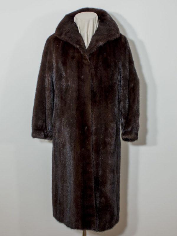 Luxusní norkový kožich SAGA MINK D1802136