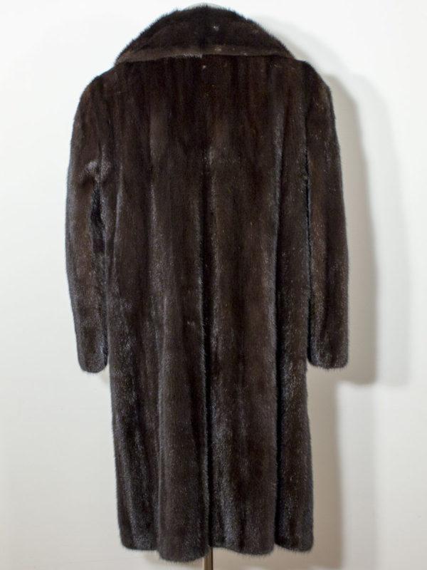 Norkový kožich s knoflíky D1700130